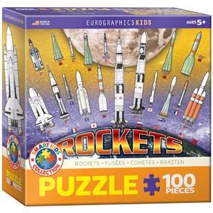 "Eurographics (6100-1015) - ""Internationale Raketen"" - 100 Teile Puzzle"