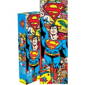 """Aquarius (73027) - """"Superman (DC Comics)"""" - 1000 Teile Puzzle"""