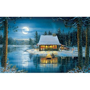 "SunsOut (29192) - Sam Timm: ""Lake Reflections"" - 300 Teile Puzzle"