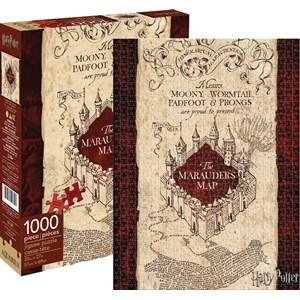 "Aquarius (65284) - ""Harry Potter Mauraders Map"" - 1000 Teile Puzzle"