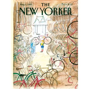 "New York Puzzle Co (NPZNY1706) - ""Fahrradladen"" - 1000 Teile Puzzle"