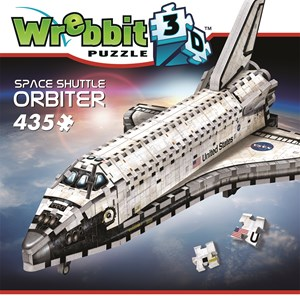 "Wrebbit (W3D-1008) - ""Space Shuttle, Orbiter"" - 400 Teile Puzzle"