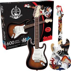 """Aquarius (75006) - """"Fender Stratocaster"""" - 600 Teile Puzzle"""