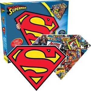 """Aquarius (75017) - """"Superman Logo"""" - 600 Teile Puzzle"""