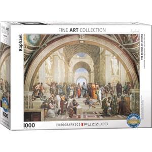 "Eurographics (6000-4141) - Raphael: ""Die Schule von Athen"" - 1000 Teile Puzzle"