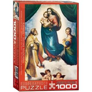 "Eurographics (6000-1211) - Raphael: ""Die Sixtinische Madonna"" - 1000 Teile Puzzle"
